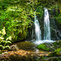 Buy canvas prints of Aberfforest Waterfall, Pembrokeshire, Wales, UK by Mark Llewellyn
