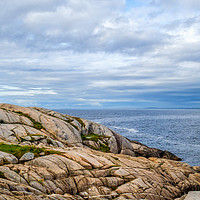 Buy canvas prints of Peggys Point Lighthouse by Mark Llewellyn