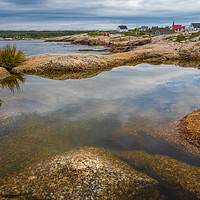 Buy canvas prints of Peggys Cove by Mark Llewellyn