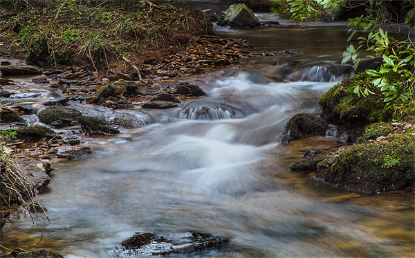 Flowing Waters Canvas print by Simon West