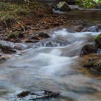 Buy canvas prints of Flowing Waters by Simon West