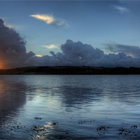 Buy canvas prints of Dylan Thomas Boathouse by Simon West