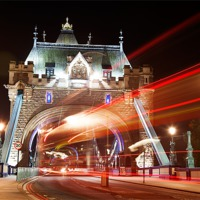 Buy canvas prints of Tower Bridge in London by Simon West