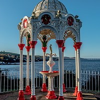 Buy canvas prints of Newport on Tay drinking water fountain. #3 by Richard Smith