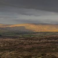 Buy canvas prints of  Isle of Man Sunset by Nigel Jones LRPS