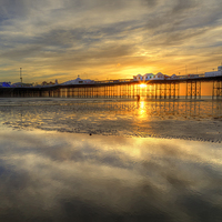 Buy canvas prints of Watching the Sunset by Stuart Gennery