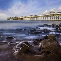 Buy canvas prints of Llandudno Pier by Ian Mitchell