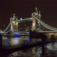Buy canvas prints of Tower Bridge, London by Nick Hillman