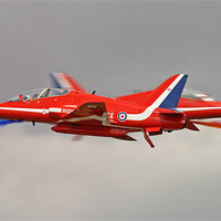 Buy canvas prints of Red arrows crossover by Rachel & Martin Pics