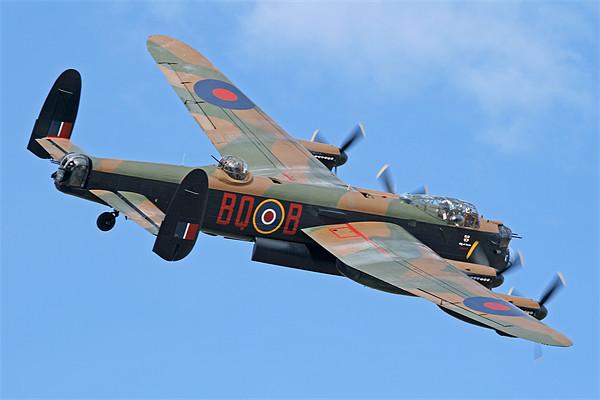 Lancaster Bomber Canvas print by Rachel & Martin Pics