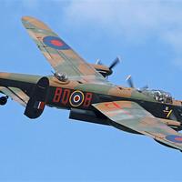 Buy canvas prints of Lancaster Bomber by Rachel & Martin Pics