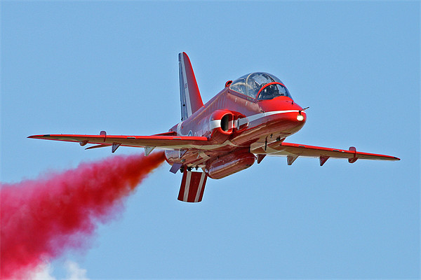 Single red arrow Print by Rachel & Martin Pics