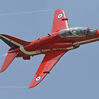Buy canvas prints of Red Arrow by Rachel & Martin Pics