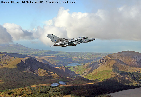 RAF Tornado low level Canvas print by Rachel & Martin Pics