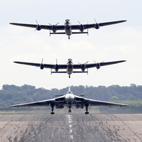 Buy canvas prints of  AVRO Trio by Keith Campbell