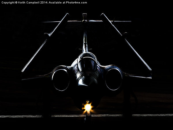 Buccaneer in the Shadows. Canvas print by Keith Campbell
