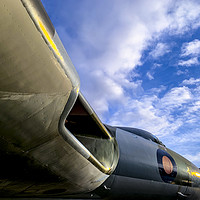 Buy canvas prints of AVRO Vulcan by Keith Campbell
