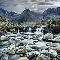 Buy canvas prints of Fairy pools on Skye by J C
