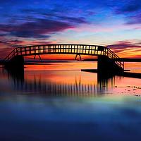 Buy canvas prints of Bridge to nowhere by J C