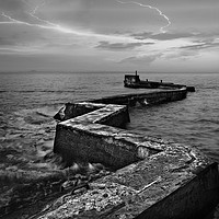 Buy canvas prints of A shock in store by J C