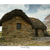 Buy canvas prints of Culloden Battlefield lies Leanach cottage by JC studios (LRPS)