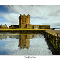 Buy canvas prints of Broughty catsle by JC studios (LRPS)