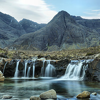 Buy canvas prints of Fairy Pools  by Debbie Bowers