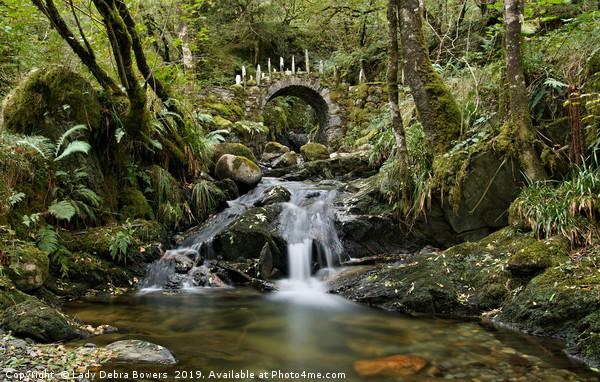 Fairy Bridge of Glen Creran Canvas print by Lady Debra Bowers