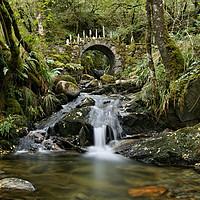 Buy canvas prints of Fairy Bridge of Glen Creran by Lady Debra Bowers