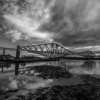 Buy canvas prints of Forth Rail Bridge by Douglas Clark