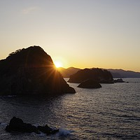 Buy canvas prints of Japan Sunset by Alex Inman