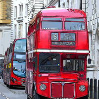 Buy canvas prints of London Routemaster by Jackie Forrest