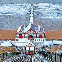 Buy canvas prints of Cool Saltburn by Cass Castagnoli
