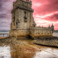 Buy canvas prints of Torre de Belem Lisbon by Nigel Hamer