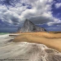 Buy canvas prints of Lavante Over Gibraltar by Nigel Hamer