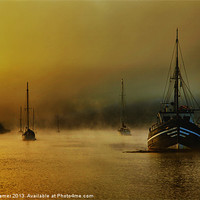 Buy canvas prints of Carina In The Mist by Nigel Hamer