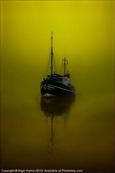 Alone Canvas print by Nigel Hamer