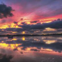 Buy canvas prints of Bembridge Harbour by Nigel Hamer
