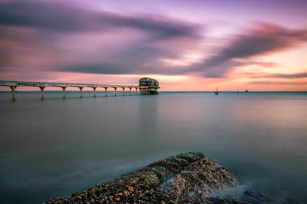 Bembridge Lifeboat Smoothy Canvas print by Wight Landscapes