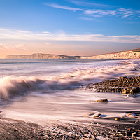 Buy canvas prints of Compton Bay Beach 3 by Wight Landscapes