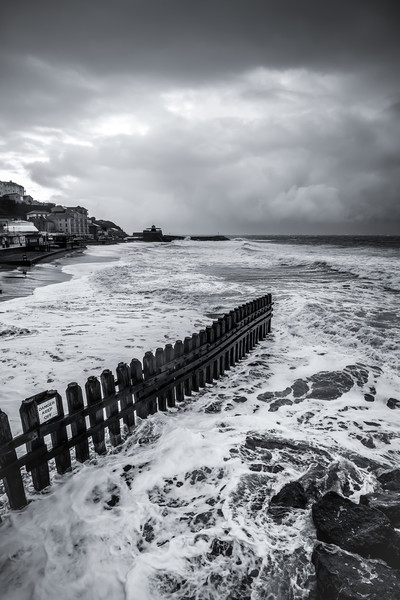 Ventnor Beach Isle Of Wight Canvas print by Wight Landscapes