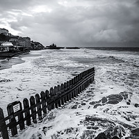 Buy canvas prints of Ventnor Beach Isle Of Wight by Wight Landscapes