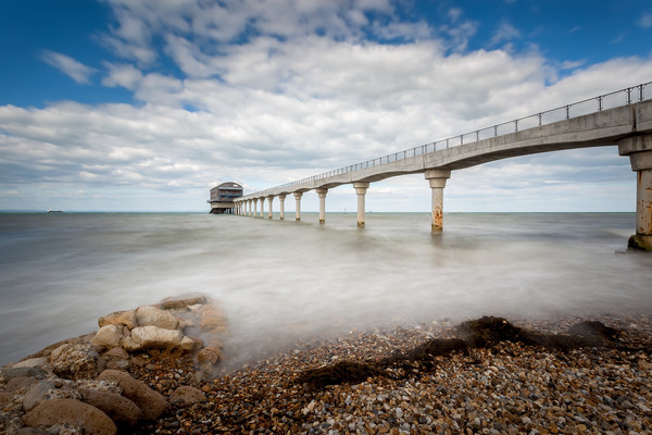 Bembridge Lifeboat Station Isle Of Wight Canvas print by Wight Landscapes