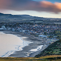 Buy canvas prints of Sandown Isle Of Wight Panorama by Wight Landscapes