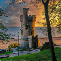Buy canvas prints of Appley Tower Sunrise Isle Of Wight by Wight Landscapes