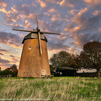 Buy canvas prints of Bembridge Windmill Isle Of Wight by Wight Landscapes