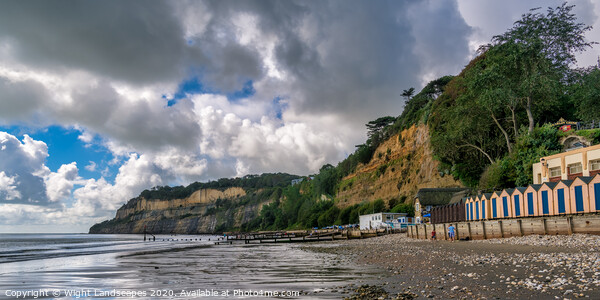 Shanklin Beach Print by Wight Landscapes