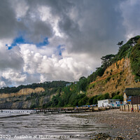 Buy canvas prints of Shanklin Beach by Wight Landscapes