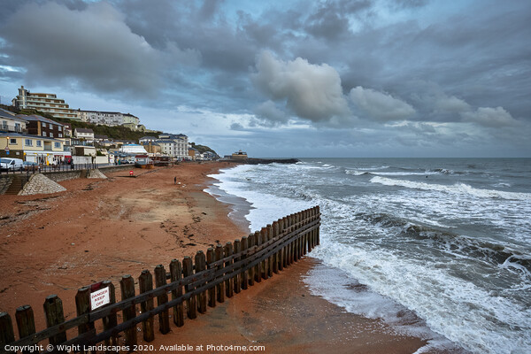 Ventnor Isle Of Wight Framed Print by Wight Landscapes