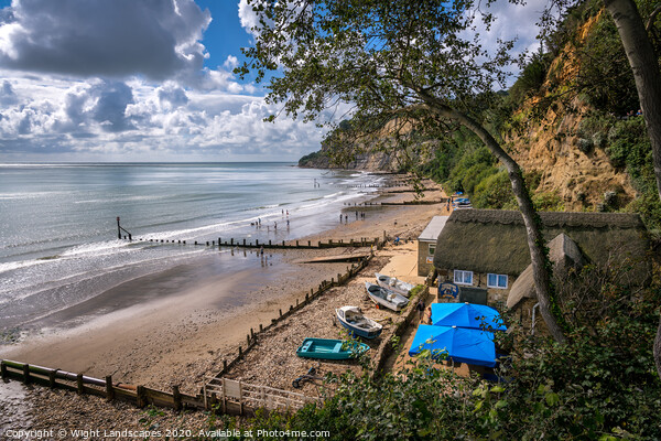Shanklin Isle Of Wight Print by Wight Landscapes